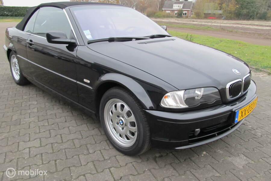 BMW 3-serie Cabrio 320Ci, met unieke 74667 km aantoonbaar !!