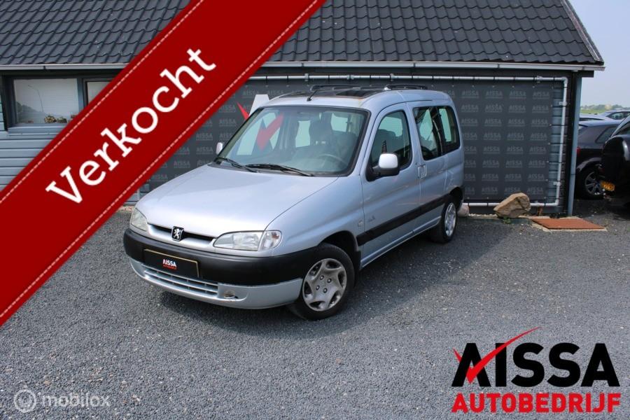 Peugeot Partner combi 1.6-16V VTC Airco APK tot 17-06-2021