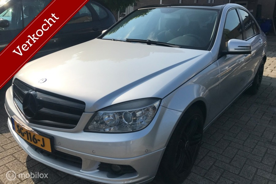 Mercedes C-klasse 200 CDI BlueEFFICIENCY 185.dkm ECC APK 11-08-2021