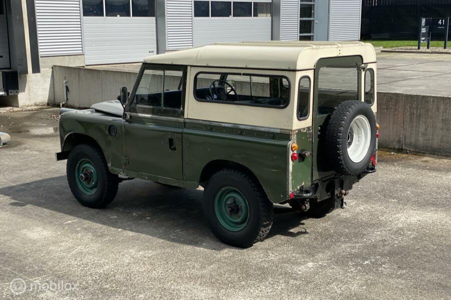 "Land Rover Series III 88"" Hardtop"