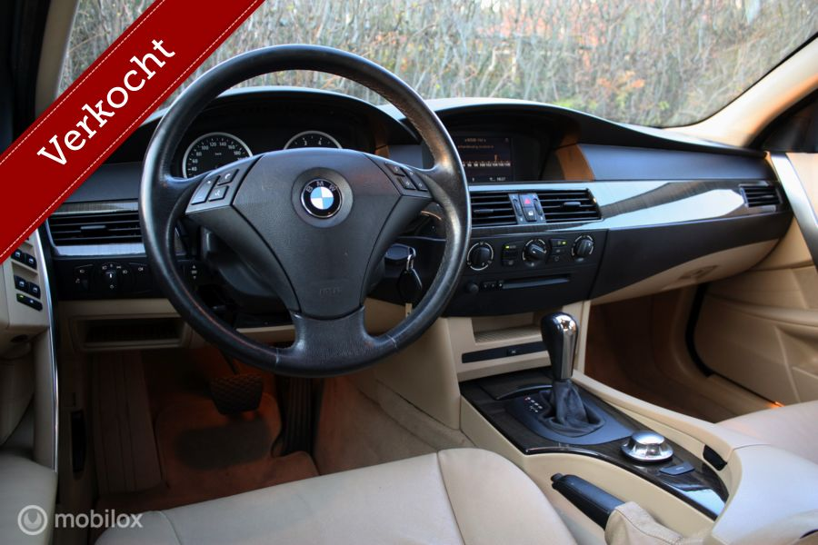 Youngtimer BMW 5-serie 530i Executive AUT leer/xenon/pdc
