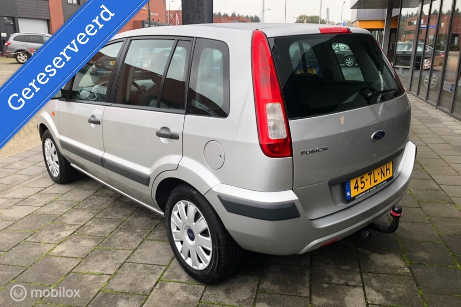 Ford Fusion 1.4-16V Champion 94.000 km NAP Airco NETTE STAAT