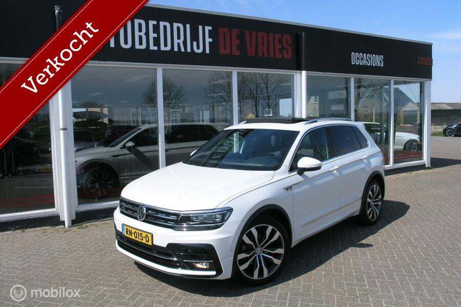 Volkswagen Tiguan 1.4 TSI ACT R-Line Full Options Panodak/20Inch