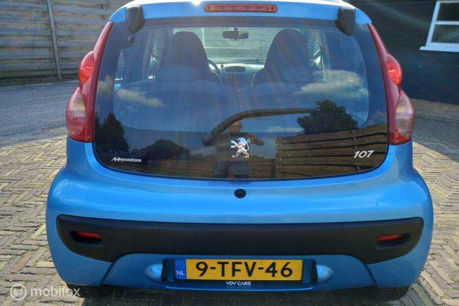 Peugeot 107 1.0-12V XR   Elec.pakket   + Nieuwe APK & beurt   Volledig onderhouden auto!
