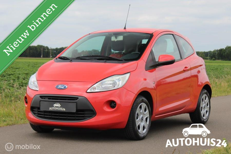 Ford Ka 1.2 Cool&Sound #Airco #Goed Onderhouden (bj2010)