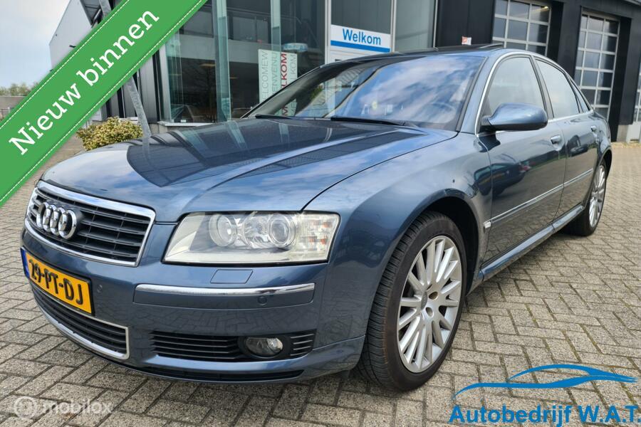 Audi A8 4.2 quattro Exclusive @ YOUNGTIMER # Uniek S8 W12 Achterkant | Liefhebbers auto!!! | CUT-OUT Valve syst. Uitlaat | Veel gedaan, maar nog niet klaar.