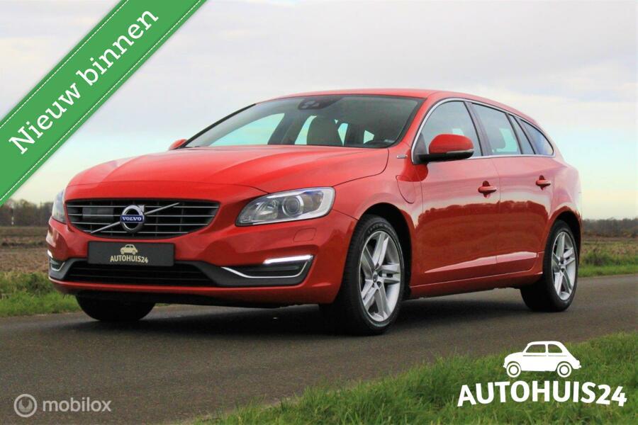 Volvo V60 2.4 D6 Twin Engine Summum *INCL BTW *FULL-OPTION