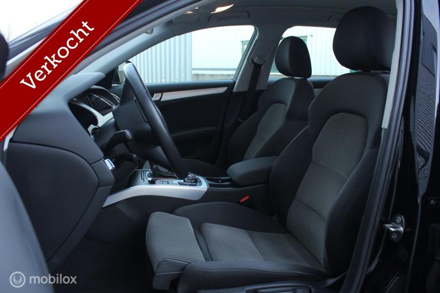 Audi A4 Avant 1.8 TFSI Pro Line 160PK/XENON/LED/SPORTSTOELEN/NAVI/BLUETOOTH/STOELVERW/PDC!