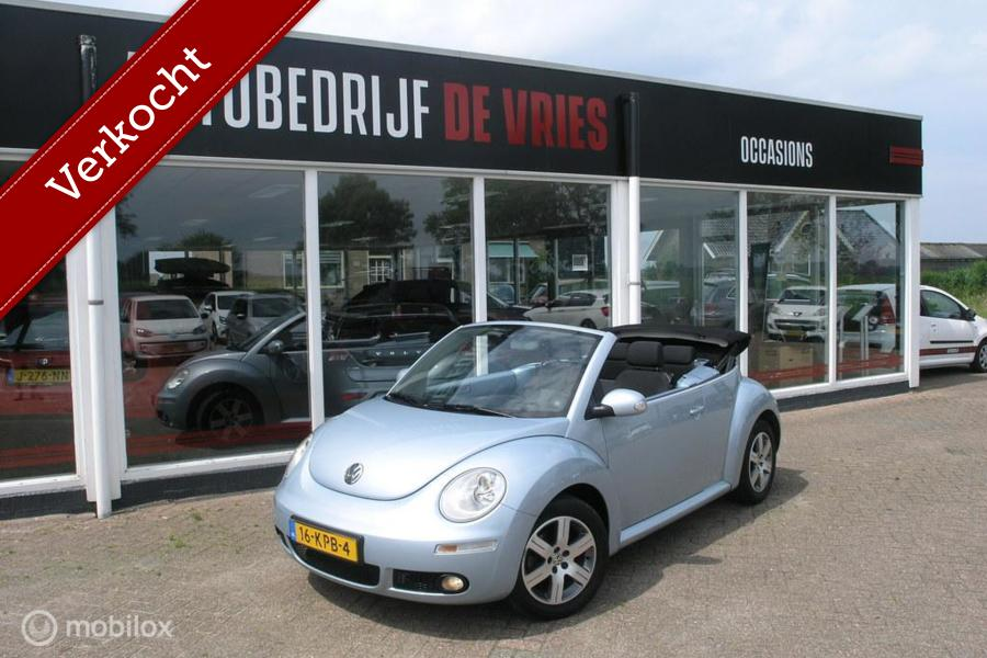 Volkswagen New Beetle Cabriolet 1.6 Highline Airco/Cruise/NAP