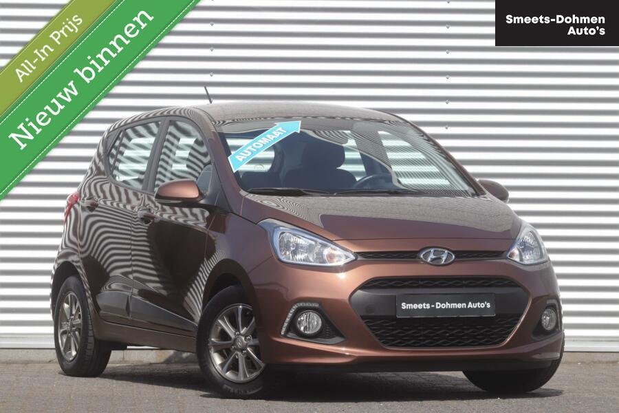 Hyundai i10 1.0i i-Motion Comfort Automaat  1e Eig! | Airco | ZONDAGS OPEN!