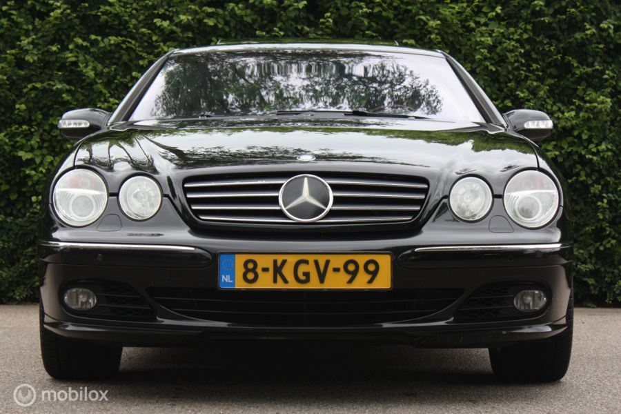 Mercedes CL 500 2005 FACELIFT distronic/stoelkoeling+massage