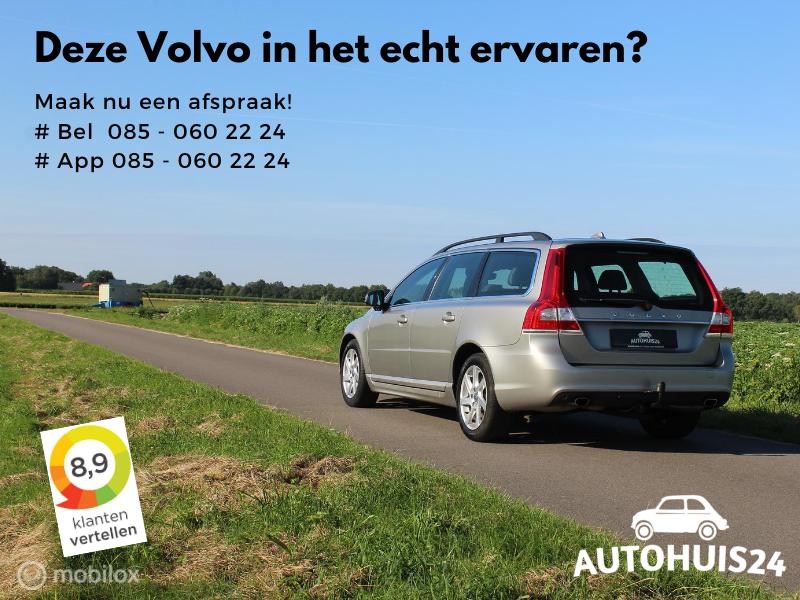 Volvo V70 2.0 D4 Nordic+ #AdaptiveCruise #Trekhaak #Leder