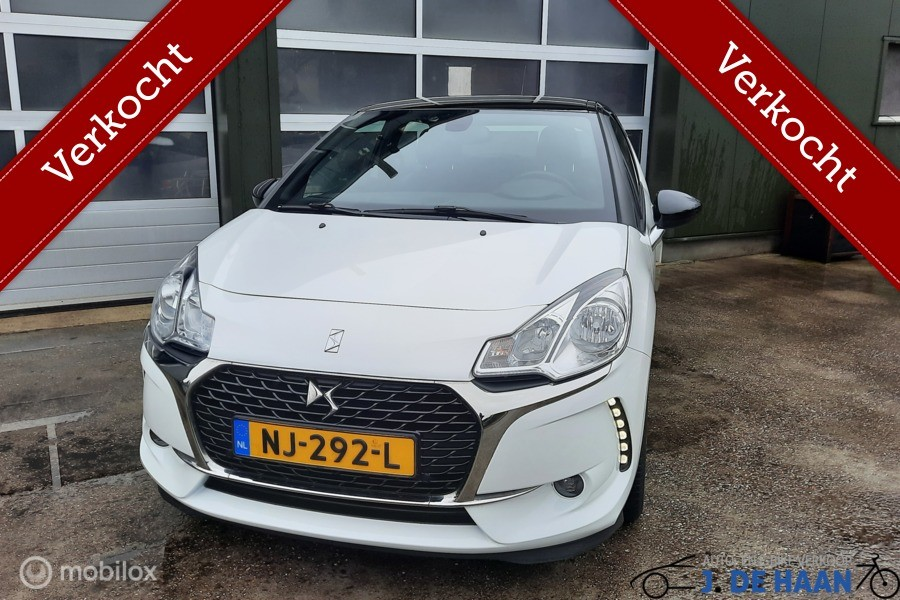 Ds3  1.6 BlueHDi Business nieuwstaat  orgineel 98000 km 2017
