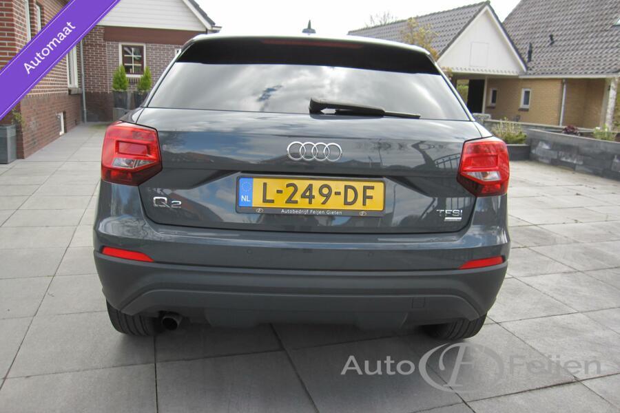 Audi Q2 1.0 TFSI Design Pro Line   DSG  Automaat  Leer Stoel verwarming licht metaal velgen