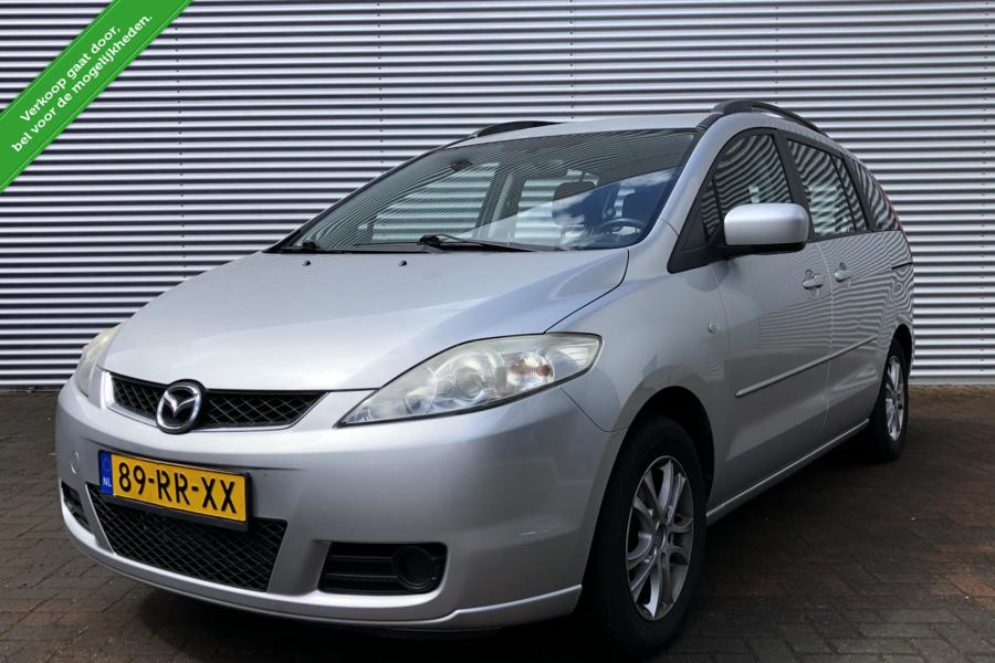 Mazda 5 1.8 Touring/Airco/7 Persoons/Mp3/Mf Stuur/BJ 2005