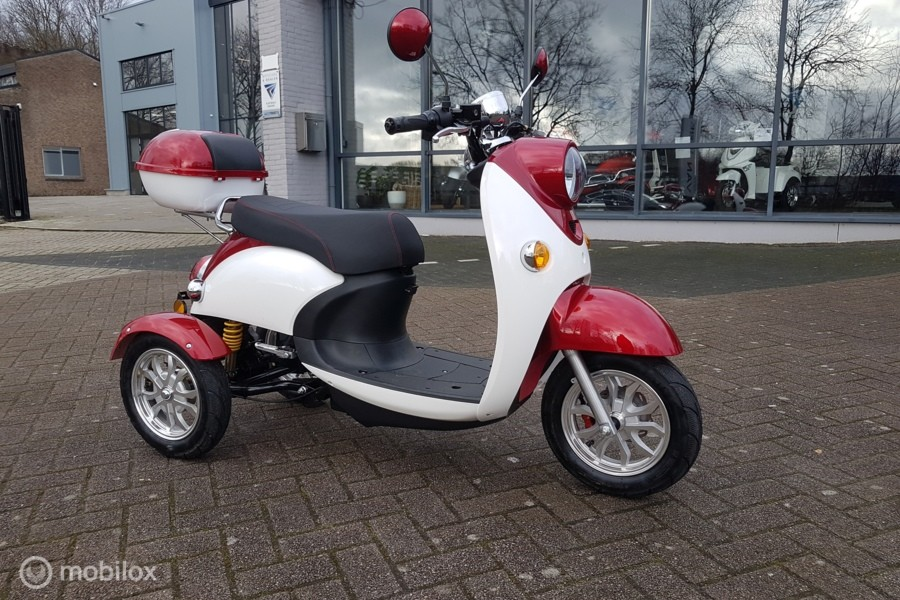 MOVE  T-412 moderne SCOOTMOBIEL 2 persoons bereik ong. 50KM