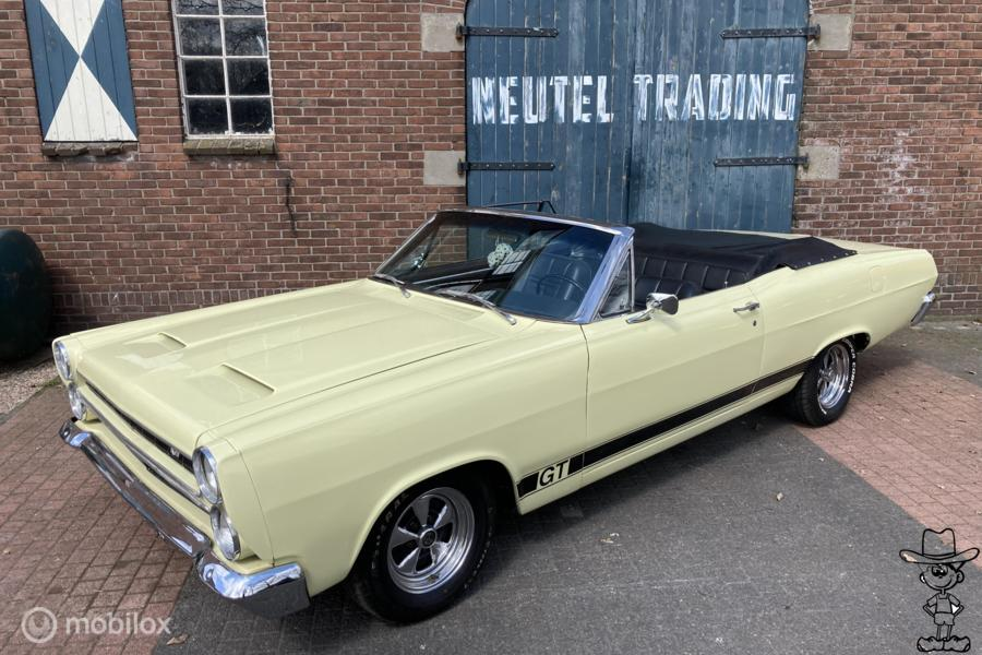 Mercury Comet cyclone GT (replica) convertible v8 mustang