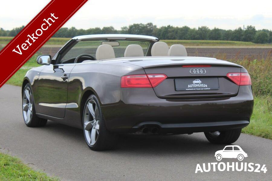 Audi A5 Cabriolet 1.8 TFSI 160PK Pro Line S #Verkocht!