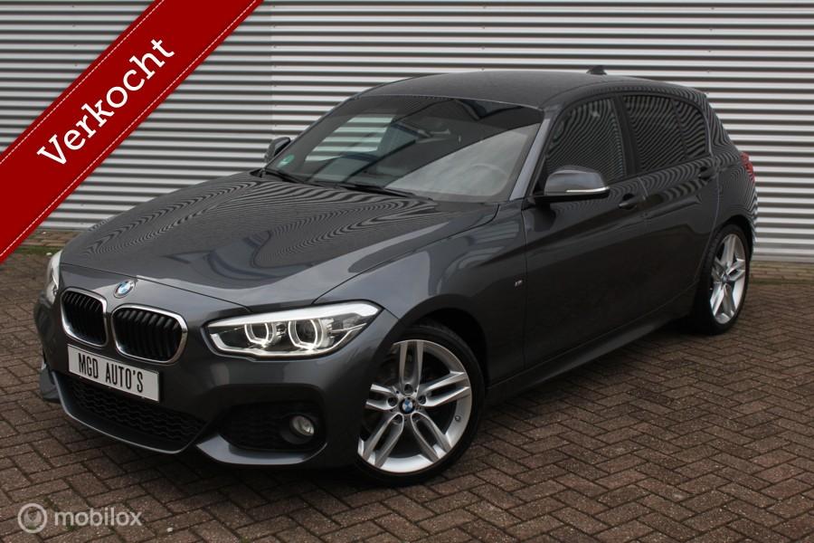 BMW 1-serie 118i M-Sport M-Pakket /XENON/LED/NAVI/BLUETOOTH/STOELVERW./PDC/18'' VELGEN!