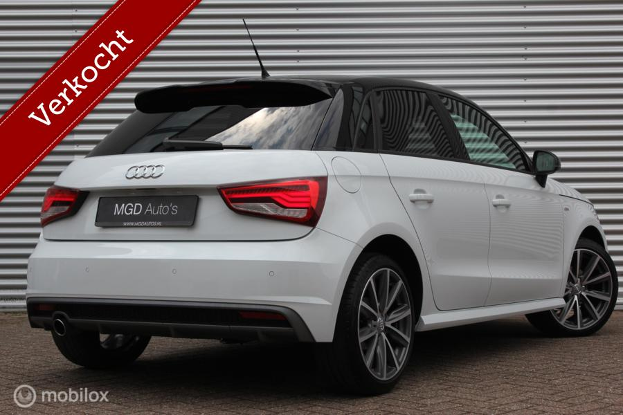 Audi A1 Sportback 1.0 TFSI Sport S-Line /LED/NAVI/BLUETOOTH/17 INCH/STOELVERW./PDC!