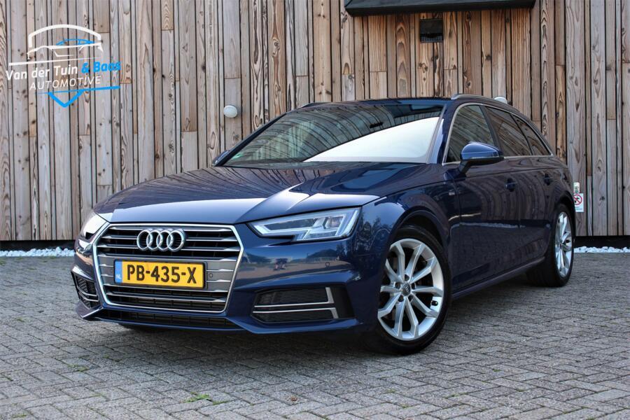 Audi A4 Avant 2.0 TFSI Sport S line Scuba Blue VIRTUAL/LED