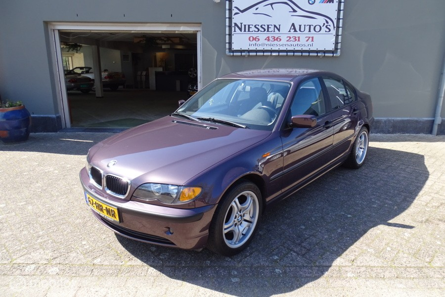 BMW 3-serie e46 316i Executive Facelift/Turmalin Violet!