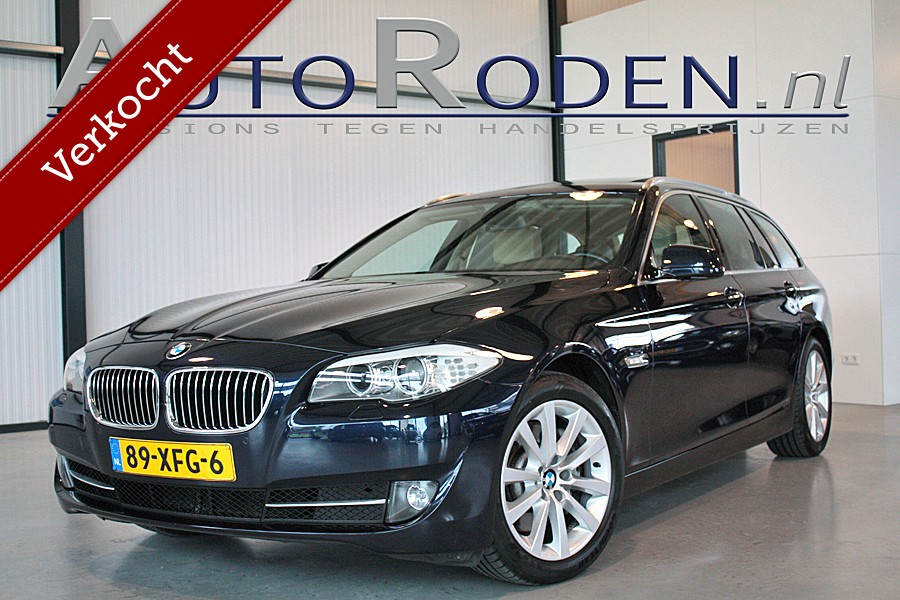 BMW 5-serie Touring 528i High Executive Panodak/Sportstoelen?>