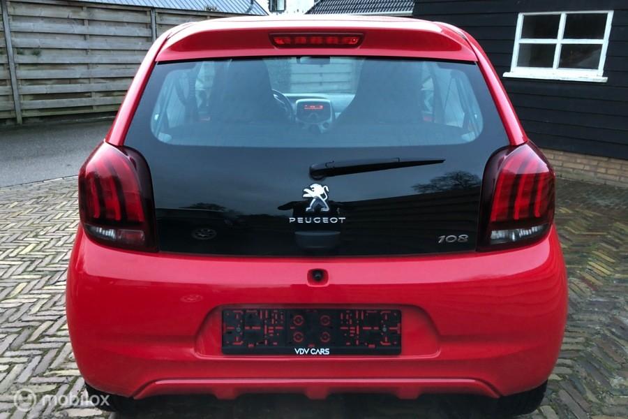 Peugeot 108 1.0 VTi Active Pack Premium, Airco, LED, BT,
