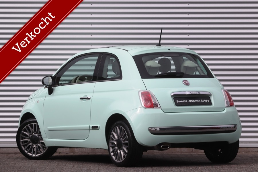 Fiat 500 1.2 Lounge   Panorama   Airco   ALL IN Prijs!