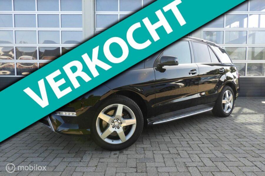 Mercedes-Benz ML-klasse - 350 BLUETEC 4MATIC AMG pakket Full optie's