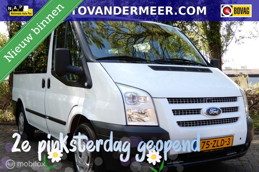 Ford Transit Combi 300S 2.2 TDCI TREND SHD 9 PERSOONS/MARGE!GEEN BTW/BPM!?>