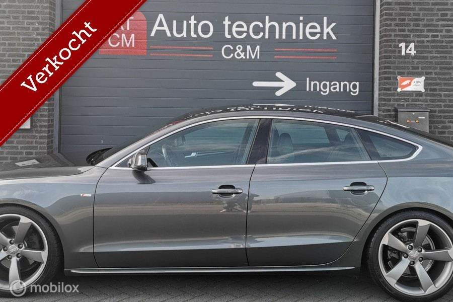 Audi A5 Sportback 1.8 TFSI 3x S-line, Cruise/xenon/Led/Vol