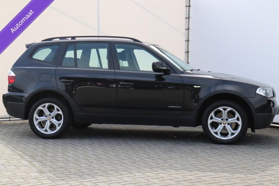 BMW X3 2.0d NAVIGATIE LEDEREN BEKLEDING NETTE AUTO !!