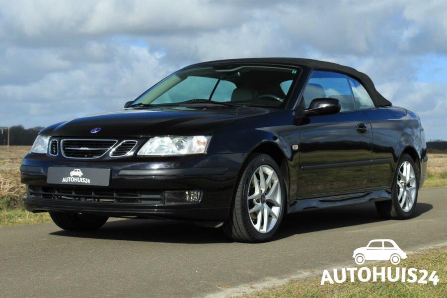Saab 9-3 Cabrio 1.8t Vector (bj2006) #Verkocht!