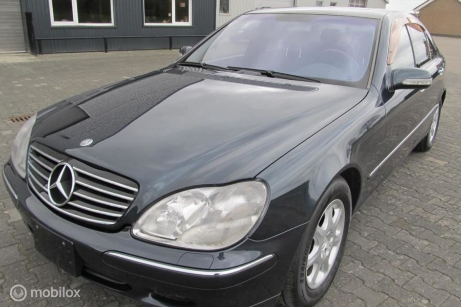 Mercedes-Benz S-klasse - 500  youngtimer topstaat 56900 km