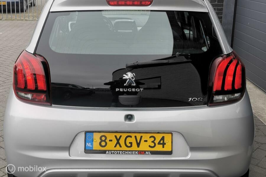 Peugeot 108 1.0 e-VTiAllure/Airco/Led/NAP/Media/NL/5drs/voll