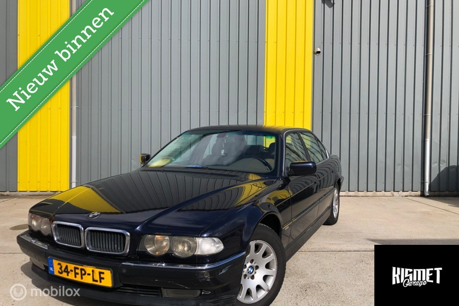 BMW 7-serie 728iL Executive High-Line facelifT Youngtimer