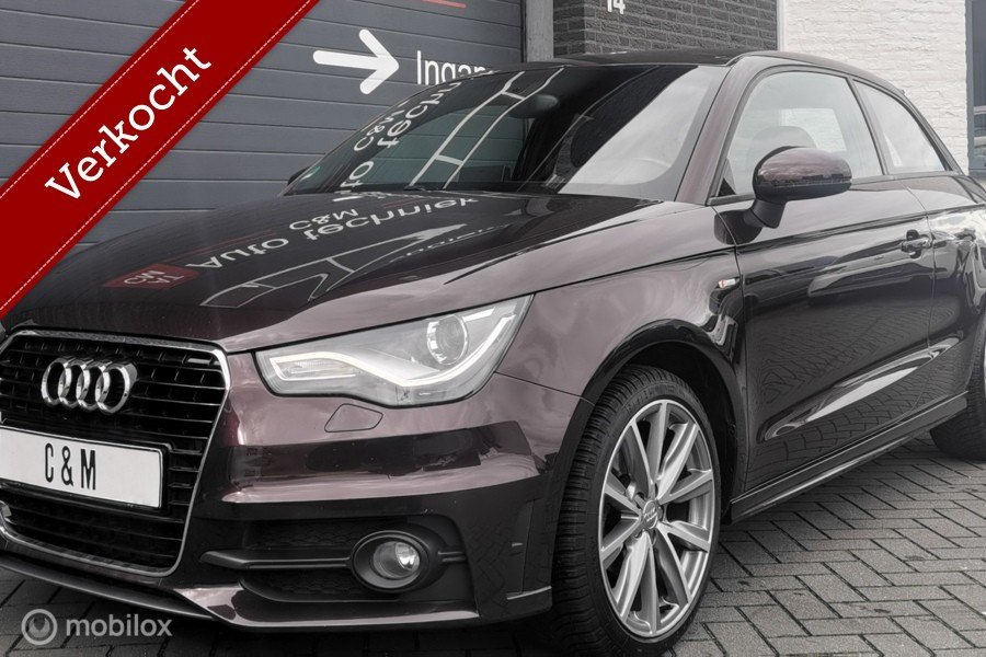 Audi A1 1.2 TFSI S-Line/Xenon/Navi/Airco/Pdc/Led/Vol/Dealer