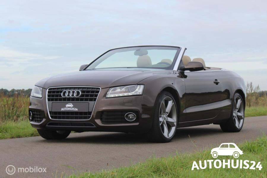 Audi A5 Cabriolet 1.8 TFSI Pro Line S (bj2011) *Full Option