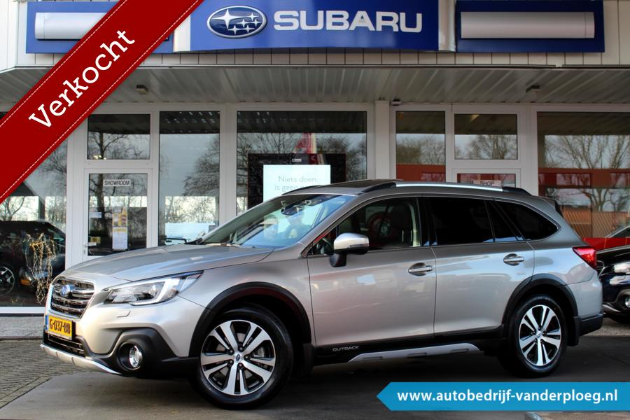 Subaru Outback 2.5 CVT EyeSight Premium * Trekhaak * Navigatie * Standkachel