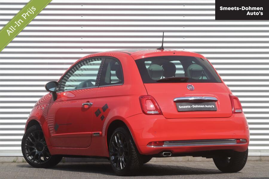 Fiat 500 0.9 Turbo Lounge Automaat | Navi | Climate | ZONDAGS OPEN!