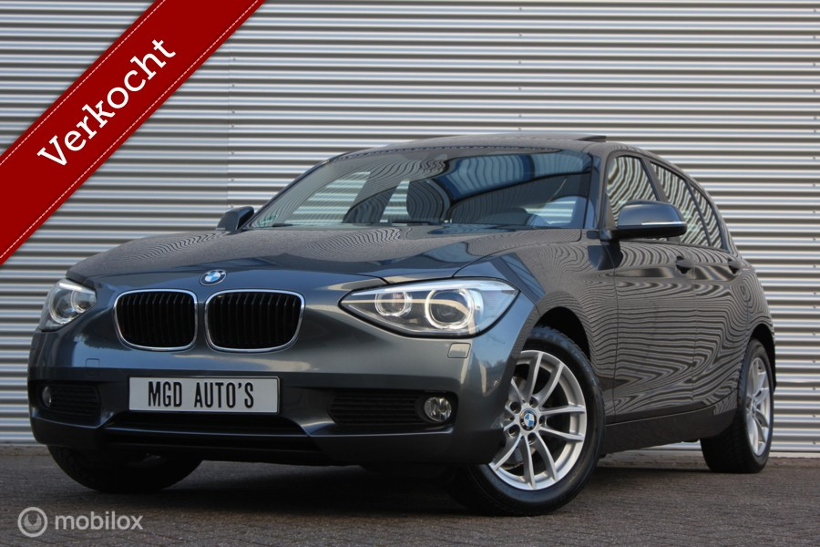BMW 1-serie 116i EDE Business+ /XENON/LED/SCHUIFDAK/GROOT NAVI/STOELVERW./BLUETOOTH/PDC!