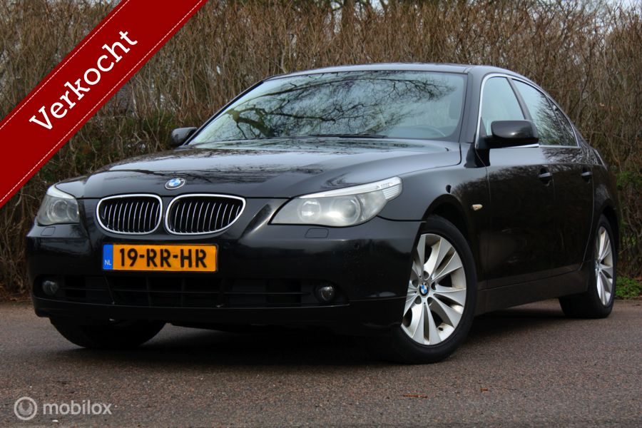 YOUNGTIMER BMW 5-serie 530i AUT Executive pdc/leer/trekhaak