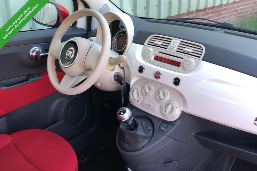 Fiat 500 1.2 Sport Airco Gucci Uitvoering Mp3 Model 2008