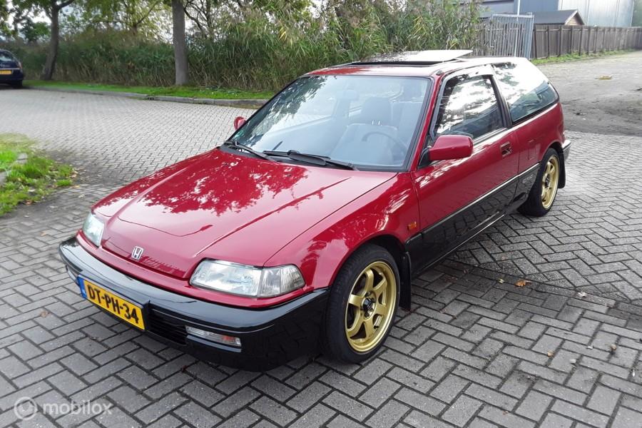 Honda Civic 1.5i GL 90pk ED6 Handgeschakeld *nieuwstaat*