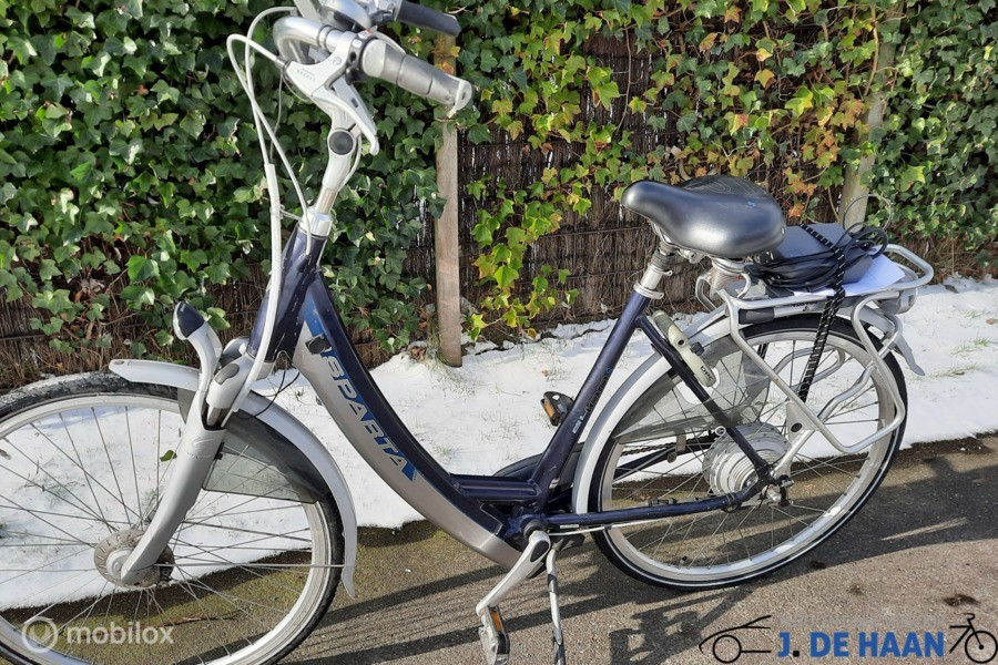 Sparta Ion electrische fiets met accutestraport