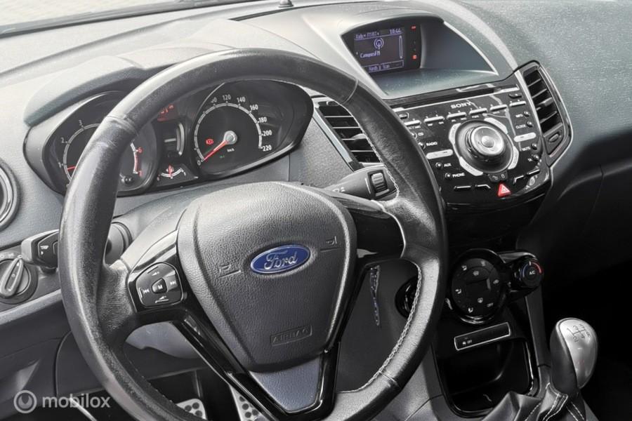 Ford Fiesta 1.6 Metal/special/leder/pdc/135pk/btmedia/vol