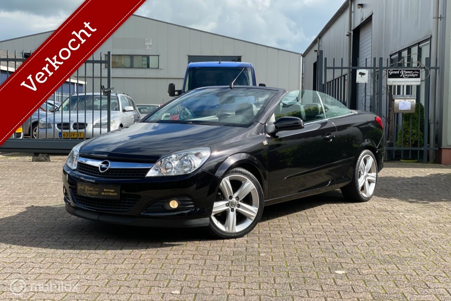 Opel Astra TwinTop 1.8 Cosmo Topstaat Full-Options