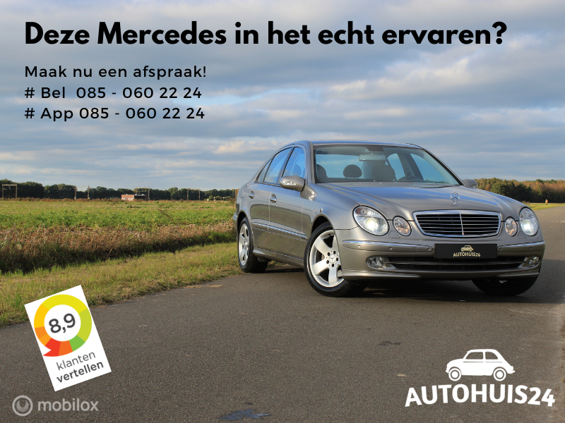 Mercedes E-klasse 270 CDI Avantgarde AUTOMAAT FULL-OPTION