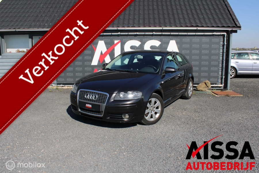 Audi A3  8P 2.0 TDI Attraction Clima/Cruise/APK 10-07-2020